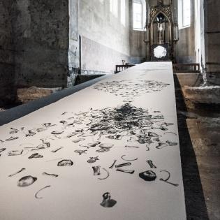 5_OSTORY-Silkscreen-on-Paper-Johanniterkirche-Austria-120cmx10m
