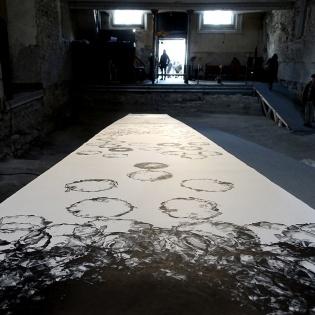 8_OSTORY-Silkscreen-on-Paper-Johanniterkirche-Austria-120cmx10m